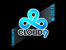 Sticker | Cloud9 G2A (Foil) | Katowice 2015