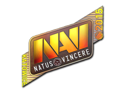 Sticker   Natus Vincere (Holo)   Katowice 2015