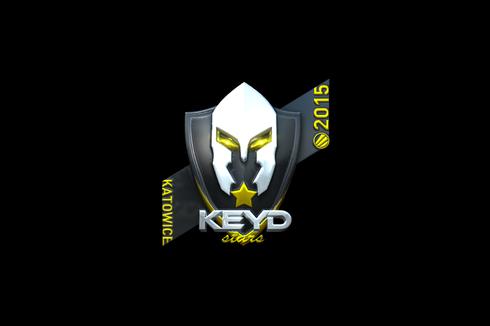 Sticker | Keyd Stars (Foil) | Katowice 2015 Prices