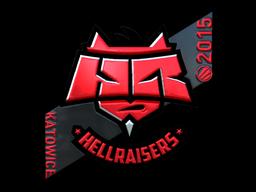 Sticker | HellRaisers (Foil) | Katowice 2015