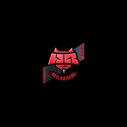 Sticker   HellRaisers (Foil)   Katowice 2015