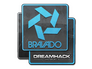 Skin Sticker | Bravado Gaming | DreamHack 2014