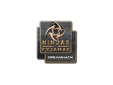 Skin Sticker | Ninjas in Pyjamas | DreamHack 2014