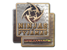 Sticker | Ninjas in Pyjamas (Holo) | DreamHack 2014