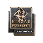 Sticker | Ninjas in Pyjamas | DreamHack 2014