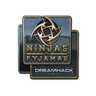 Sticker | Ninjas in Pyjamas (Foil) | DreamHack 2014