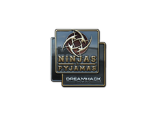 Skin Sticker | Ninjas in Pyjamas (Foil) | DreamHack 2014