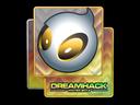 Sticker | Team Dignitas (Holo) | DreamHack 2014