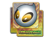Sticker Team Dignitas (Holo)   DreamHack 2014