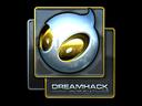 Sticker | Team Dignitas (Foil) | DreamHack 2014
