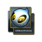 Sticker | Team Dignitas (Foil) | DreamHack 2014