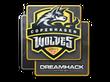 Sticker Copenhagen Wolves | DreamHack 2014
