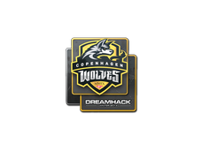 Skin Sticker | Copenhagen Wolves | DreamHack 2014