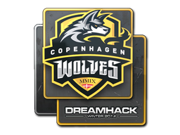 Sticker | Copenhagen Wolves | DreamHack 2014