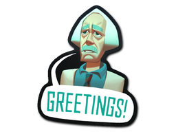 Sticker | Greetings