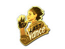 Sticker | Last Vance (Gold)