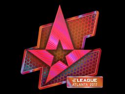 Sticker | Astralis (Holo) | Atlanta 2017