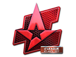 Sticker Astralis (Foil)