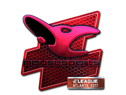 Sticker | mousesports (Foil) | Atlanta 2017
