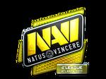 Sticker Natus Vincere (Foil)