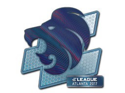 Sticker | North (Holo) | Atlanta 2017