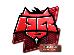 Sticker | HellRaisers (Foil) | Atlanta 2017