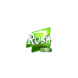 Sticker | RUSH (Foil) | Atlanta 2017