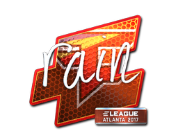 Sticker | rain (Foil) | Atlanta 2017