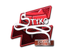 Skin Sticker | STYKO (Foil) | Atlanta 2017