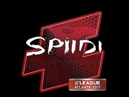 Sticker   Spiidi   Atlanta 2017