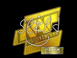 Наклейка | seized | Atlanta 2017