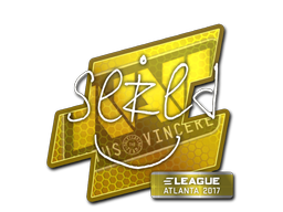Sticker | seized | Atlanta 2017