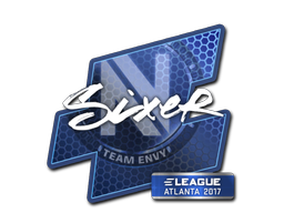 Sticker | SIXER | Atlanta 2017