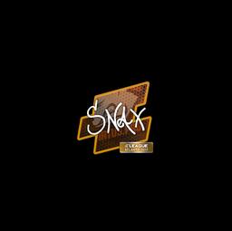 Sticker   Snax   Atlanta 2017