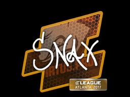 Snax   Atlanta 2017
