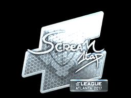 Sticker | ScreaM (Foil) | Atlanta 2017