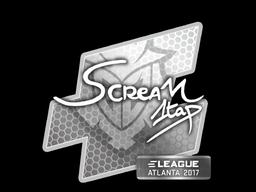 Sticker | ScreaM | Atlanta 2017