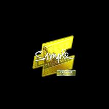 Sticker   s1mple (Foil)   Atlanta 2017