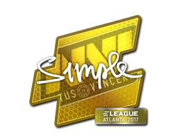 Наклейка | s1mple | Atlanta 2017