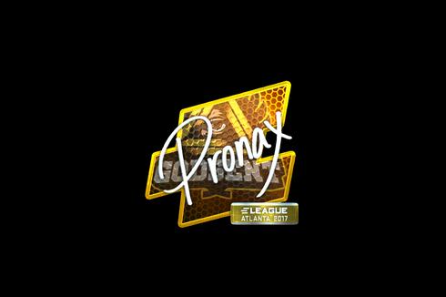 Sticker | pronax (Foil) | Atlanta 2017 Prices