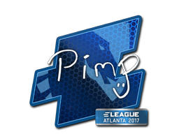 Sticker | Pimp | Atlanta 2017