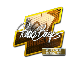 Sticker | pashaBiceps (Foil) | Atlanta 2017