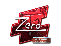 Sticker | Zero (Foil) | Atlanta 2017