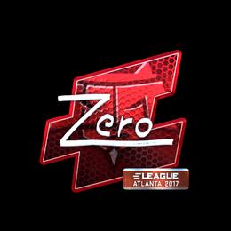 Zero (Foil) | Atlanta 2017