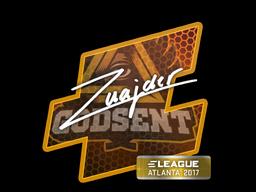 Sticker   znajder   Atlanta 2017