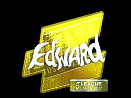 Sticker | Edward (Foil) | Atlanta 2017