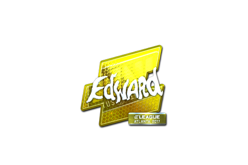 Sticker | Edward (Foil) | Atlanta 2017 Prices
