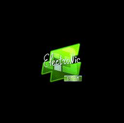 Sticker   electronic (Foil)   Atlanta 2017