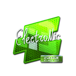 electronic (Foil) | Atlanta 2017