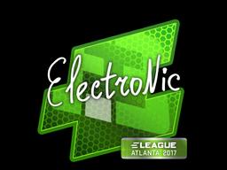 Sticker | electronic | Atlanta 2017